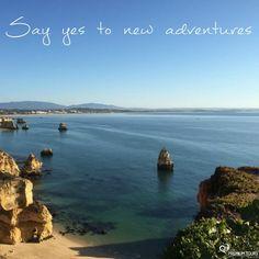 Thrilling emotions are ahead!  Diga sim a novas aventuras. Momentos emocionantes aproximam-se!