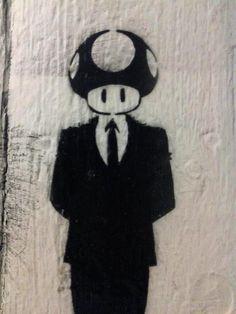 #mario #toad #streetart