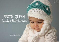 Receita de Crochê Infantil: Peruca de crochê estilo Frozen