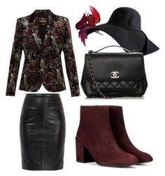 """""""Autumn is coming"""" by fru316 on Polyvore featuring Stuart Weitzman, Chanel and Roberto Cavalli"""