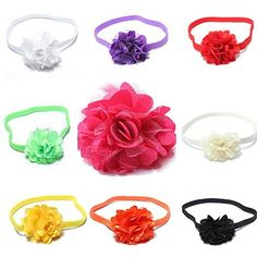 Elastic Baby Girl Infant Hair Band Lace Flower Headwear Headband *** You can find out more details at the link of the image. #hairinspiration