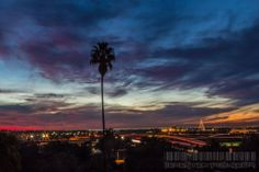 San Diego Reader  -   Quite the view last night! Photo by Jarred Davidson of Decentexposure619.