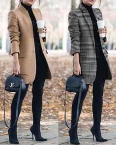 Office Outfits Women, Casual Work Outfits, Winter Outfits For Work, Business Casual Outfits, Winter Fashion Outfits, Work Casual, Classy Outfits, Look Fashion, Chic Outfits