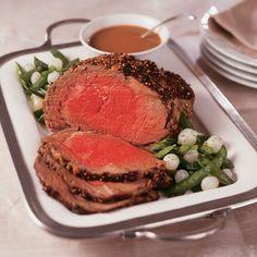 Prime Rib au Poivre - Christmas Dinner