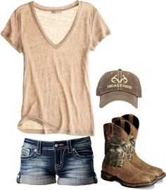 """""""Fishing"""" by redneckprincess26 ❤ liked on Polyvore"""