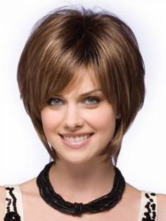 Gorgeous Short Hairstyles for Round Faces