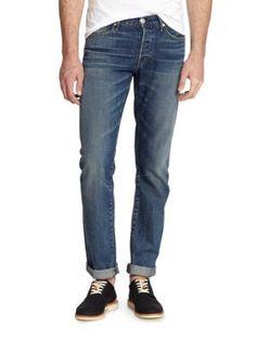 3X1 M3 Selvedge Slim-Straight Jeans. #3x1 #cloth #jeans