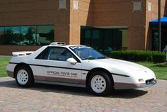 1984 Pontiac Fiero Indy Pace Car