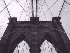 Brooklyn Bridge circa 2001 by Sweetmango on @creativemarket