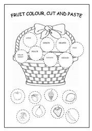 54 best Cut and paste worksheets! images on Pinterest