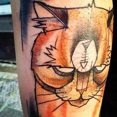 @sven_von_kratz | Guess what! I am pissed! #tattoo | Webstagram - the best Instagram viewer
