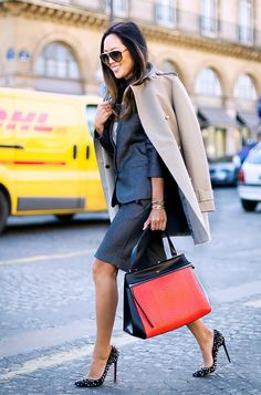 Are you in a work-wardrobe rut? Try these 11 outfits the next time you can't decide what to wear to the office. Office Fashion, Fashion Week, Work Fashion, Fashion Bloggers, Style Fashion, Aesthetic Fashion, Curvy Fashion, Fall Fashion, Fashion Trends