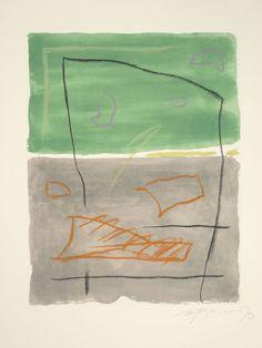 """""""Brisa-5"""", año 1993,  aguafuerte, ejemplar HC Tirada: 75 ejemplares, más 10 PA, más 10 HC medidas: imagen 53,5 x 41,5 cm, papel 77 x 57 cm"""