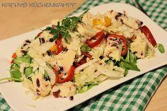 Frühlingssalat mit Portulak, Mairübchen und Cranberrie-Käse Low Carb, Meat, Chicken, Spring, Food, Essen, Meals, Yemek, Eten