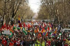 All the Marches have joined. Madrid #22M https://twitter.com/eldiarioes/status/447409332137623552