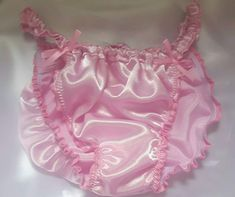 Made to Order Satin SISSY Skirted knickers.any size.any colour by SweetCheeks Nylons, Fushia Pink, Green Turquoise, Satin Fabric, Etsy, Feminine, Pure Products, Color, Clothes