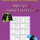 Domino Activity - Simplifying Rational Expressions Classifying Triangles, Simplifying Rational Expressions, Algebra 2, Math Math, Math Centers, Mathematics, Middle School, Classroom Ideas, Homeschool