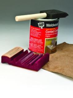 see more tips @  woodcarvingillustrated.com    tool sharpening    Attach a thin piece of leather to your wooden honing tool to increase the tools durability