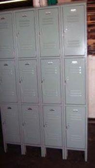 Used Locker For Sale 12 Wide X 15 Deep X 24 High Triple Tier Metal Lockers Model Utt 257 Fe 29 Used Lockers For Sale Metal Lockers Lockers For Sale