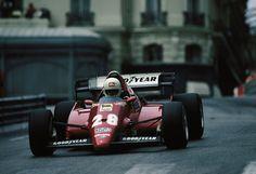 Rene Arnoux Ferrari Monaco GP