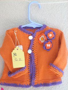 PerTeBaby Handmade Girls Sweater