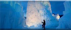 ice castle in midway, ut