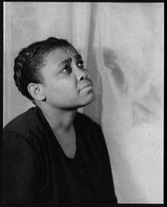 Van Vechten's Portrait of Ruby Elzy, Porgy & Bess. 1935