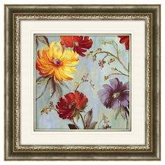 I pinned this Field Flowers II Framed Print from the Garden Gallery event at Joss and Main!