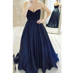 Navy Blue Party Dress Prom Gown ,Cheap Prom Dress,Formal Dress, Sexy Gril Dress, Floor-Length Prom Dresses, Evening Dresses, Custom Dress