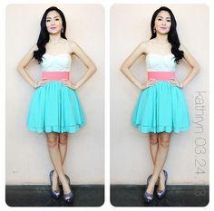 Kathryn Bernardo is very beautyfull Filipina Actress, Filipina Beauty, Fashion Beauty, Girl Fashion, Fashion Outfits, Blue Dresses, Summer Dresses, Kathryn Bernardo, Skinny Girls