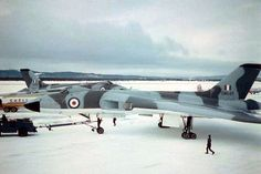 Vulcan's deployment in Canada for training Military Jets, Military Aircraft, Anti Flash, V Force, Nuclear Force, Avro Vulcan, Delta Wing, Post War Era, Falklands War