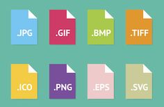 How and When to Use the 9 Most Common Types of Image Files #bloggingtips