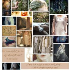 Galadriel by sylviamccordle on Polyvore featuring art