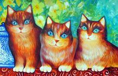 """Poetic Creatures"" par Oxana Zaika"