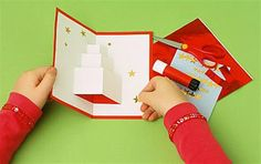 Pop-up gift card