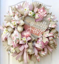 Beautiful Deco Mesh Wreath Ideas
