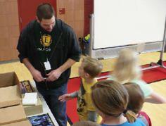 Doug Osmond visits MES promoting literacy, life Skills | The Morgan County News - Morgan County, Utah
