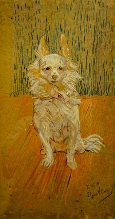 Henri de Toulouse-Lautrec (French, 1864 - 1901) Follette, 1890.