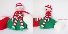 Crochet amigurumi Christmas Elf toy, Crochet Santa's helper, crochet Christmas Elf, Christmas present, crochet plush toy Christmas gift by CuteLambKnitting on Etsy