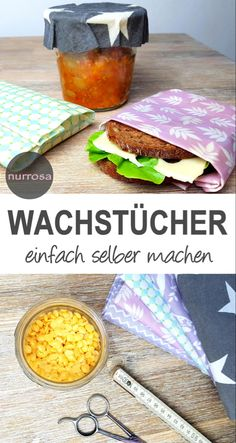 Wachstücher selber herstellen Anleitung – nurrosa Make your own oilcloth Instructions - pink only clothing ideas diy Upcycled Crafts, Diy Crafts To Sell, Crafts For Kids, Make Your Own, Make It Yourself, How To Make, Bf Gifts, Thrift Store Crafts, Thrift Stores