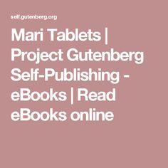 Mari Tablets | Project Gutenberg Self-Publishing - eBooks | Read eBooks online