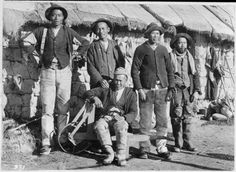 The Molly Maguires, Irish American activists. The Mollies protested cruel conditions in the mining industry. Many were hanged in Carbon County, Pennsylvania in 1877 and Henri Cartier Bresson, Irish American, American History, Gold Miners, Paranormal Romance Books, In The Hole, Asian History, Coal Mining, Victorian