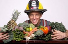 "Rip Esselstyn and ""Engine 2 Diet"" author."
