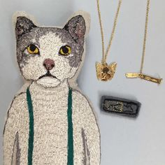 Coral & Tusk - Titlee Collaboration - KItty Necklace - Titlee and Coral & Tusk