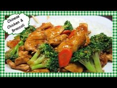 How to Make the Best Chicken and Broccoli Chinese Stir Fry Recipe ~ Healthy Chinese Cooking - YouTube