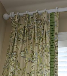 ruffled window treatments
