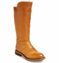 Main Image - Naya 'Raptor' Leather Tall Boot (Women) (Wide Calf)