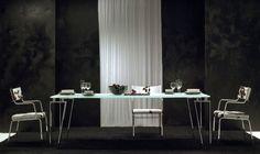 Extending dining table KYOTO By F.lli Orsenigo design Umberto Asnago