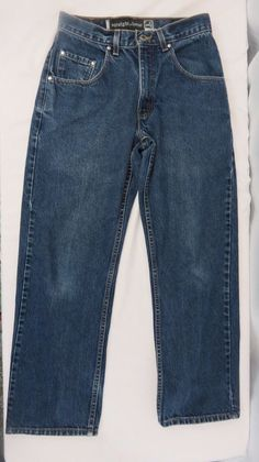 Levis Silver Tab Men's Baggy Blue Jeans Size 30 X 30 Straight & Loose #Levis #BaggyLoose