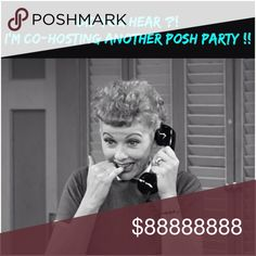 I'm Co-Hosting Another Posh Party on 5/11/17 Join me as I Co-Host Another Posh Party on 5/11/17 at 4pm PST. I'll keep you updated on the details. Posh Compliant Closets Only get Host Picks Posh Party Other